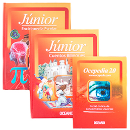 Júnior Cuentos Blingues, Enciclopedia Escolar y Ocedepedia 2.0